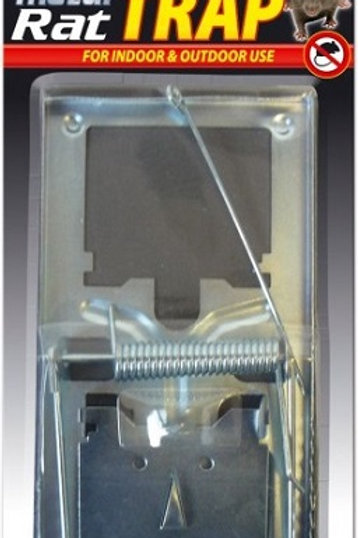 Metal Rat Trap for indoor and outdoor use, classic style metal rat trap, fast and effective