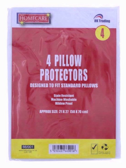 Pillow Protectors help to prolong the life of your pillows, mildew and stain resistant