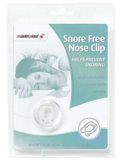 Snore Free Nose Clip alleviates snoring by easing the restriction of the nasal passages that causes individuals to snore