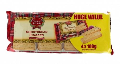 Shortbread Fingers 400g