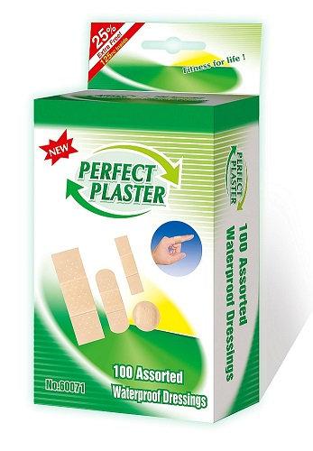 125 Waterproof Assorted Plasters