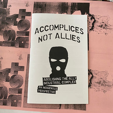 Accomplices not allies