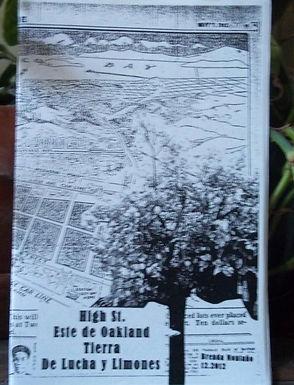 High St. Este de Oakland Tierra de Lucha y Limones