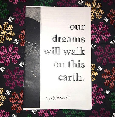 Our Dreams Will Walk on this Earth