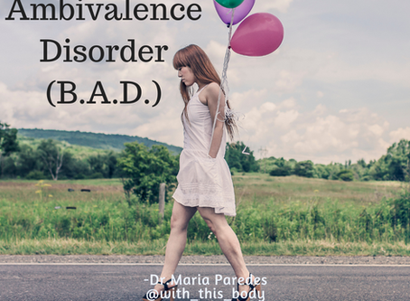 Birthday Ambivalence Disorder: When You've Got the Birthday Blues