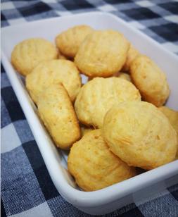Mais uma receita sem lactose: salgadinhos de queijo