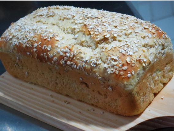 1 olhar pão de aveia