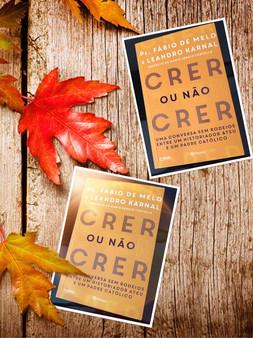Resenha do livro CRER OU NÃO CRER – PE. FABIO DE MELO E LEANDRO KARNAL