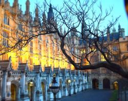 Azul em Londres!