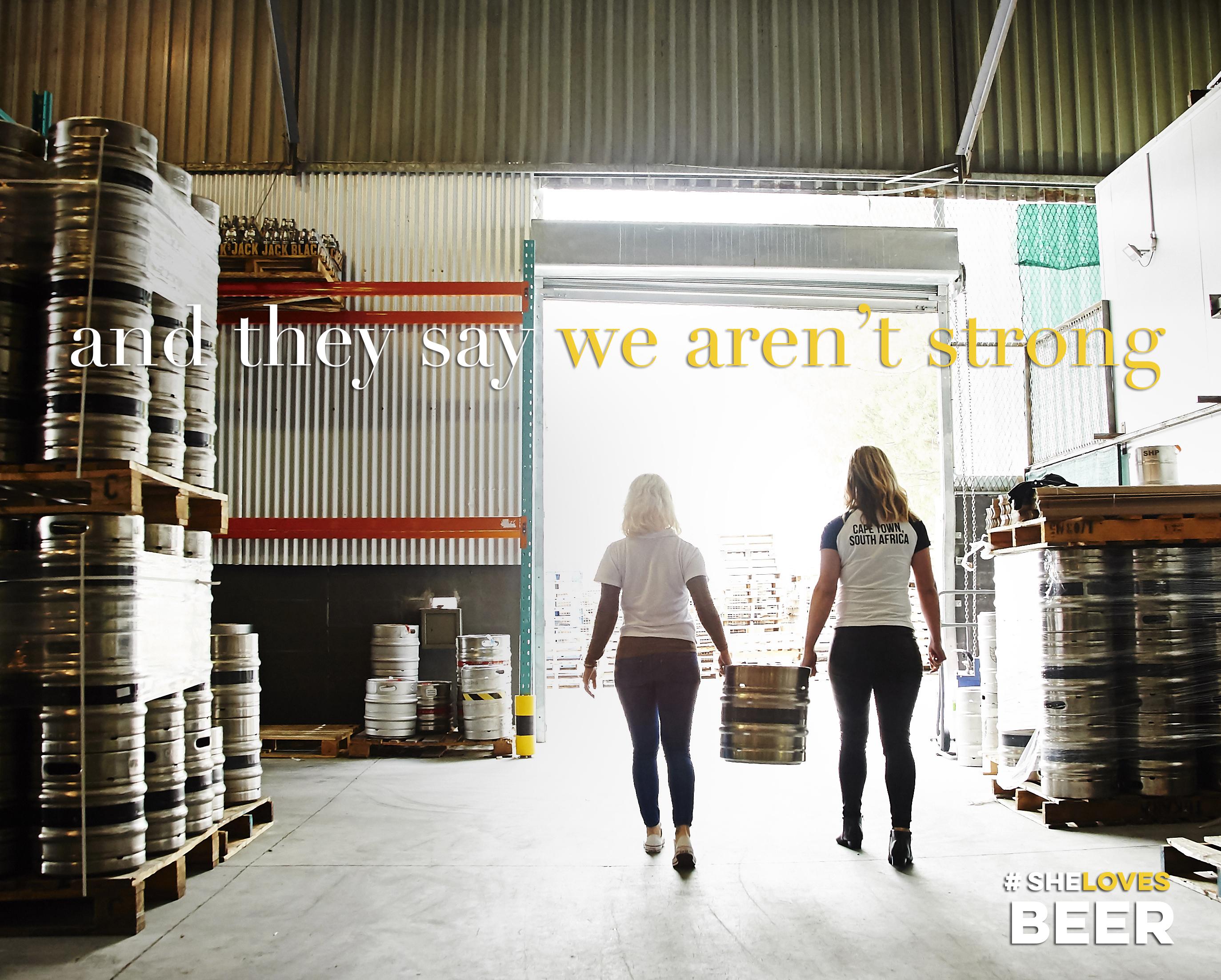 #shelovesbeer Campaign