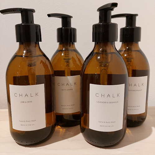 Beautifully Scented Chalk Hand & Body Wash