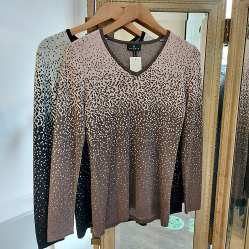 Marble Two Tone Graded Sweaters