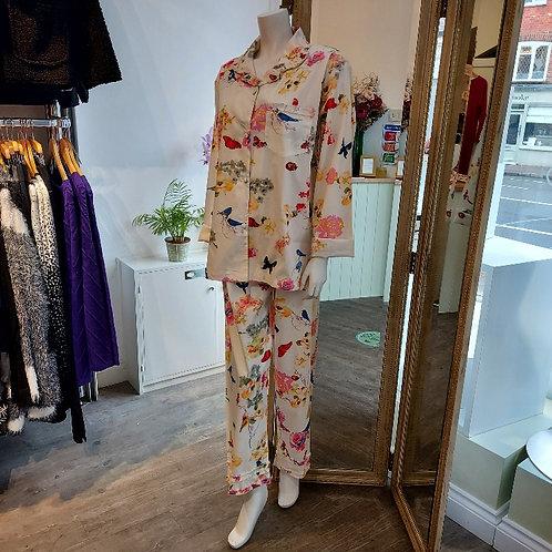 Cotton Floral Pyjamas