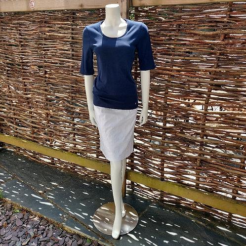 Robell Christy Seersucker Pencil Skirt in 2 colours