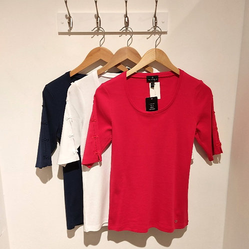 Marble Bow Detail T-Shirts
