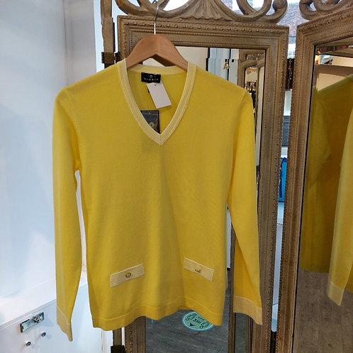 Marble - Chic Lemon Sweater