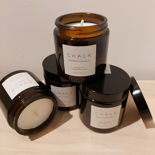 Chalk Candle