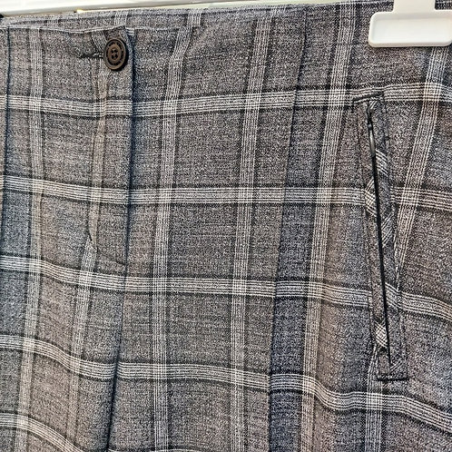 Robell - Holly grey check trousers