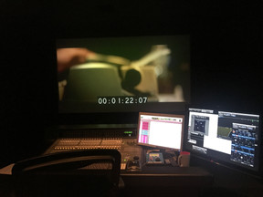 POST PRODUCTION!