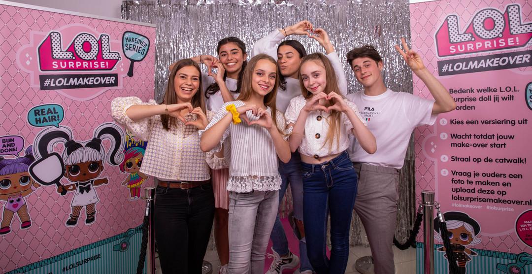 L.O.L. Surprise makeover event