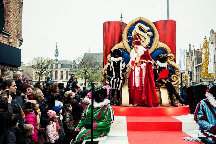 Unieke Sinterklaasparade