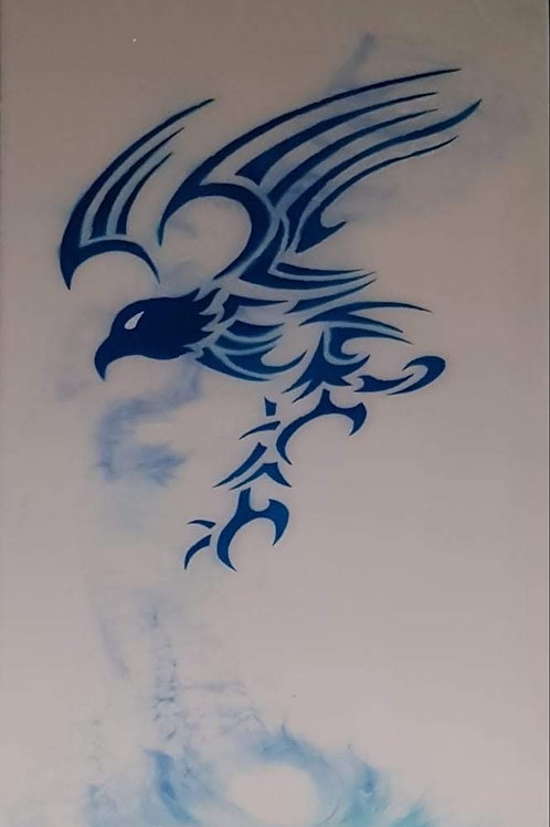 Elysian Designs resin art eagle