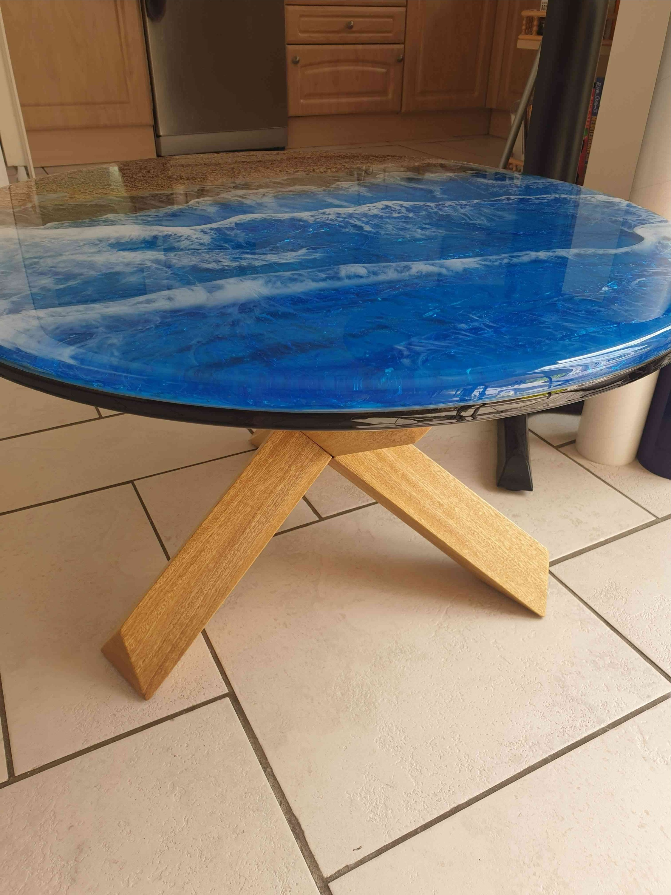 Elysian Designs Ocean concept table