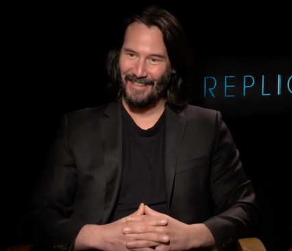 KEANU REEVES DDOESN'T WANT HIS CONSCIOUSNESS TRANSFERRED