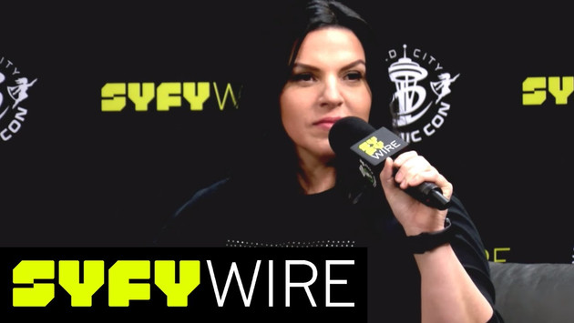 ECCC 2018: MEGAN HUTCHISON PLAYS THE SYFY WIRE FANGRRLS INFINITY WHEEL