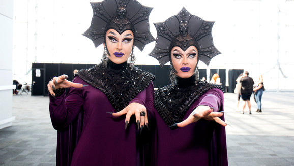 THE BOULET BROTHERS ARE THE MONSTER QUEENS OF DRAG