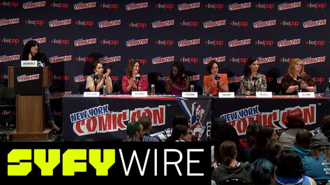 SYFY WIRE's FANGRRLS PANEL: THE BAD ASS WOMEN OF SCI-FI| New York Comic Con 2017