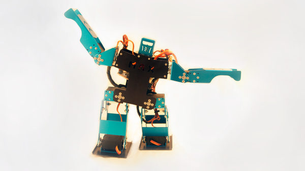 小藍波人型機器人