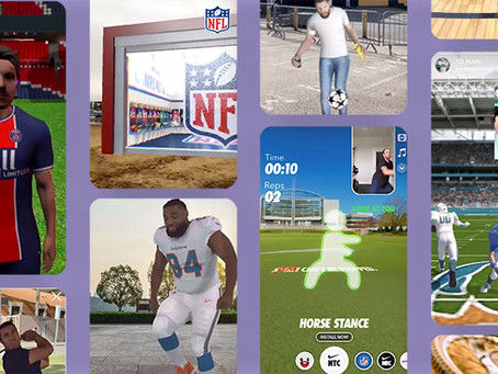 5 Ways AR makes brands part of the fan experience