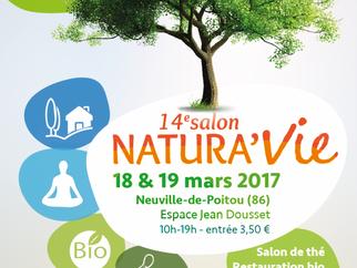 Salon NATURA'VIE 18 &19 mars 2017