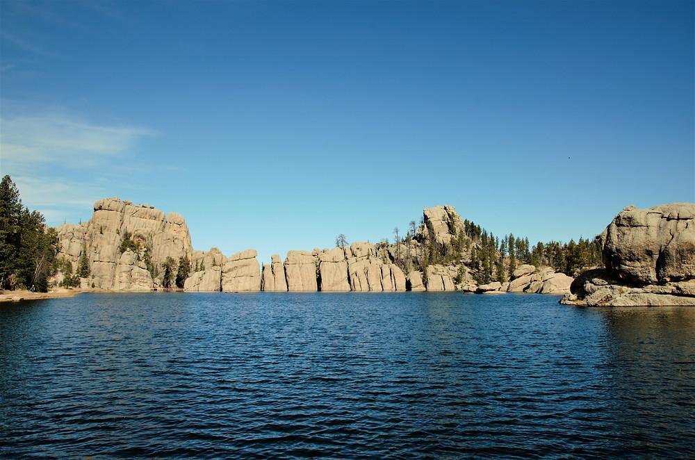 The iconic view at Lake Sylvan