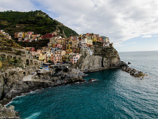 Cinque Terre National Park and the famous Blue Trail