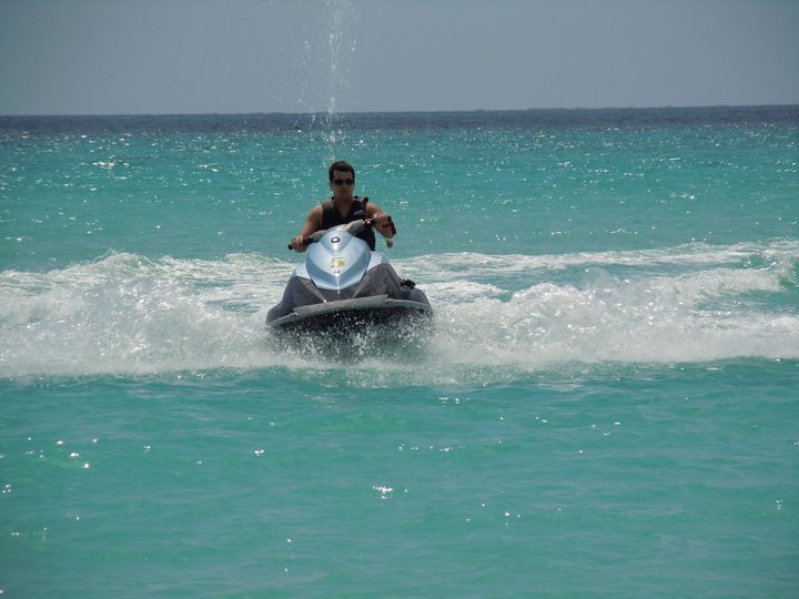 Jet skiing in Jamaica? Why not?