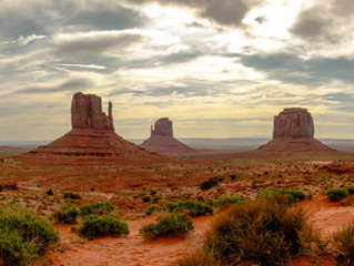 The Monumental Views at Monument Valley.