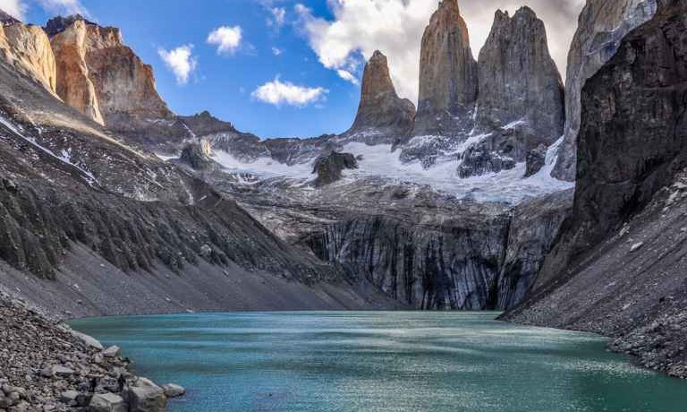 The granite towers of Torres del Paine. (this image is not mine, I will take it down upon request from owner)