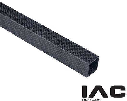 3K 100% Square Tube Pipe 56-85mm (平織り, 艶あり, 艶無し)