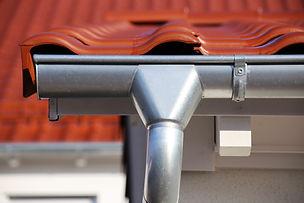 Roof gutter on a new tiled roof.jpg