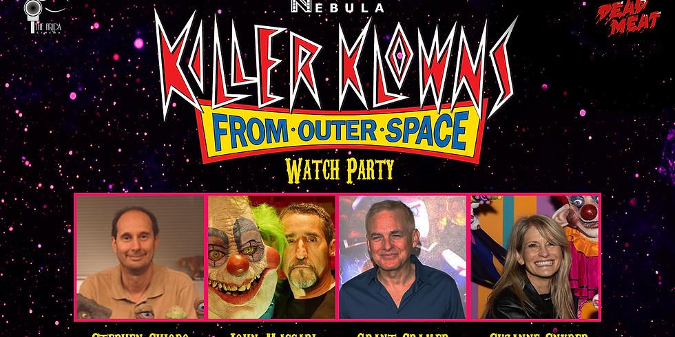 Killer Klowns From Outer Space Watch Party & Filmmaker Reunion