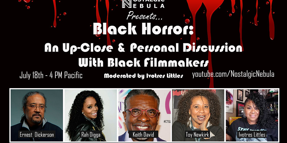 Black Horror: An Up-Close & Personal Discussion With Black Filmmakers
