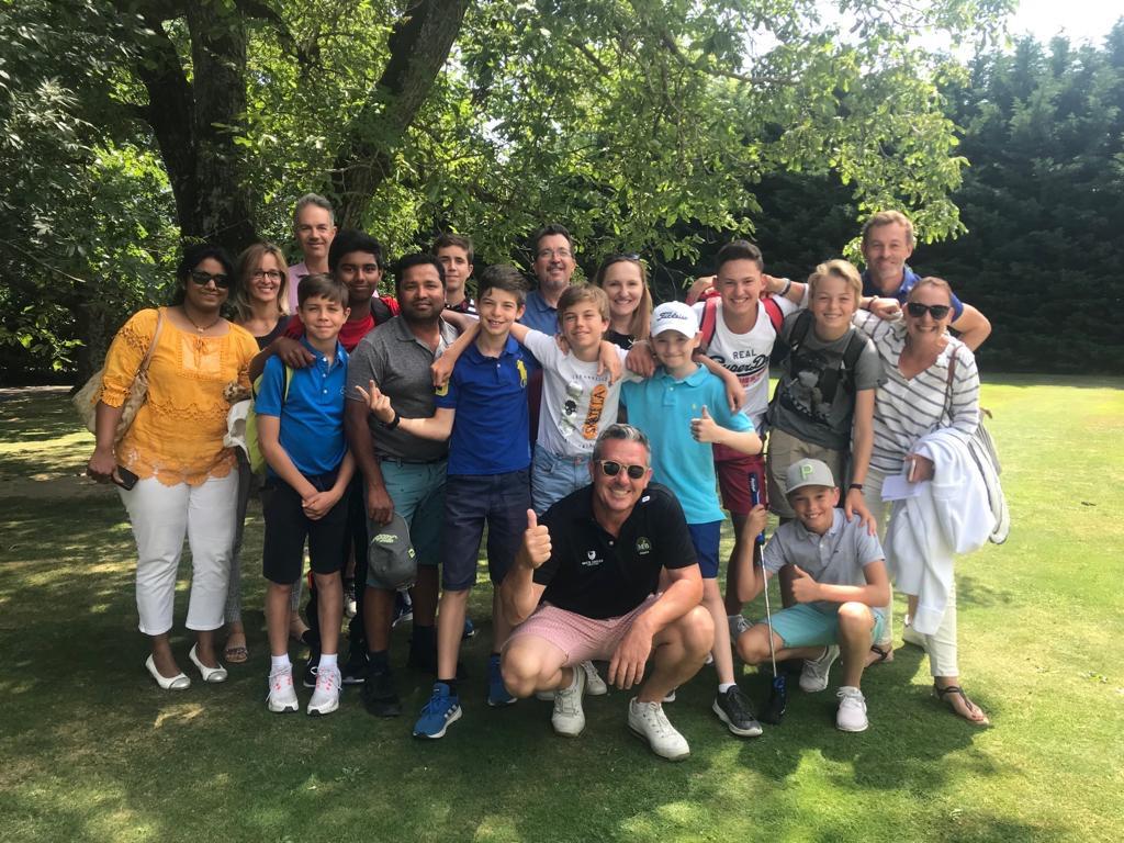 Equipe U16 Boys & parents
