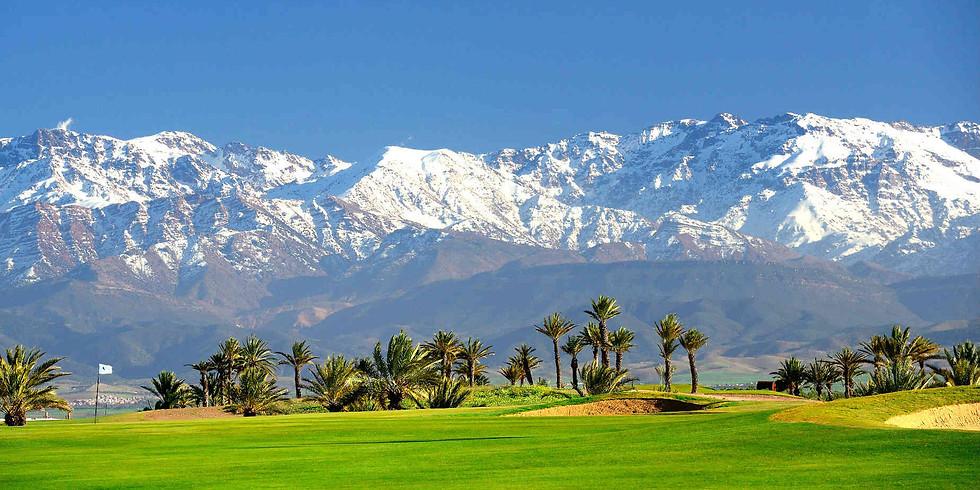 Stage de golf à Marrakech