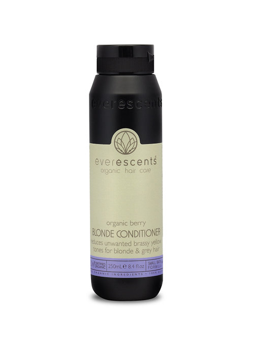 Organic Blonde Conditioner - Tones & Nourishes Blonde and Grey Hair