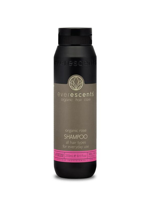 Organic Rose Shampoo - All Hair Types for Everyday Use