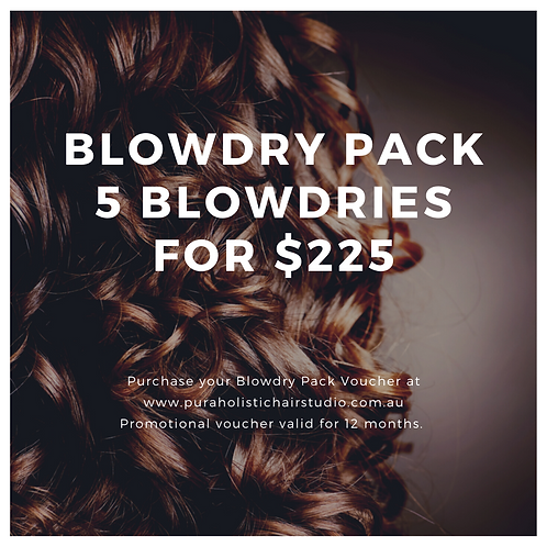 5 pack of Blowdries