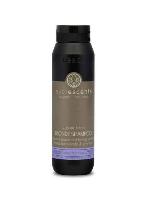 Organic Berry Blonde Shampoo - Tones & Nourishes Blonde and Grey Hair