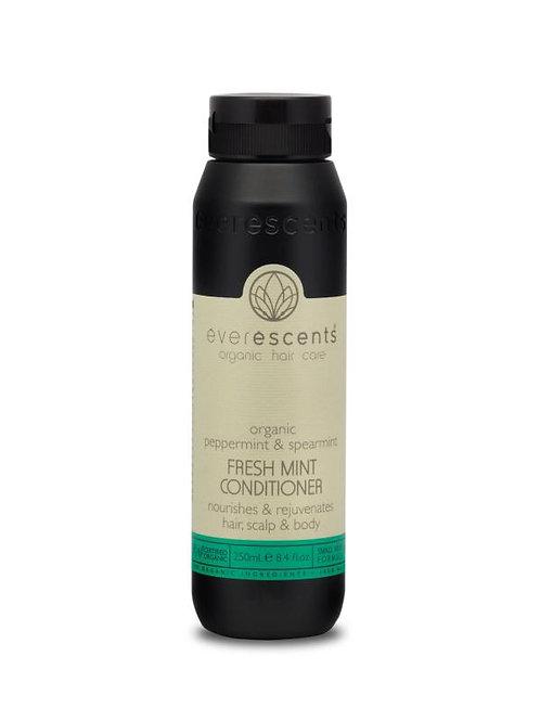 Organic Fresh Mint Conditioner - Nourishes and Rejuvenates Hair, Scalp & Body